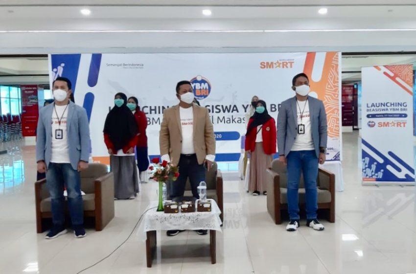 Dukung Pembangunan SDM Unggul, YBM BRI Berikan 50 Mahasiswa Unhas Beasiswa Pendidikan