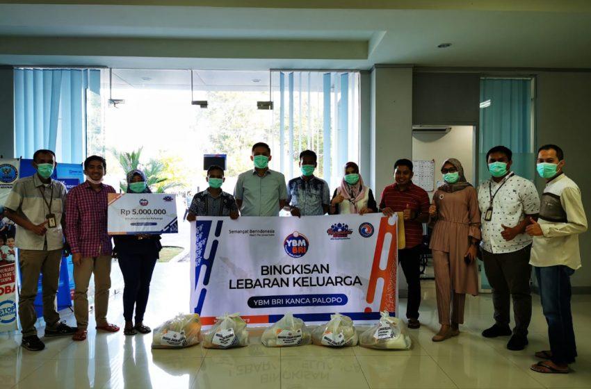 YBM-BRI Kanwil Makassar Salurkan Bantuan dari Sulawesi Sampai Maluku