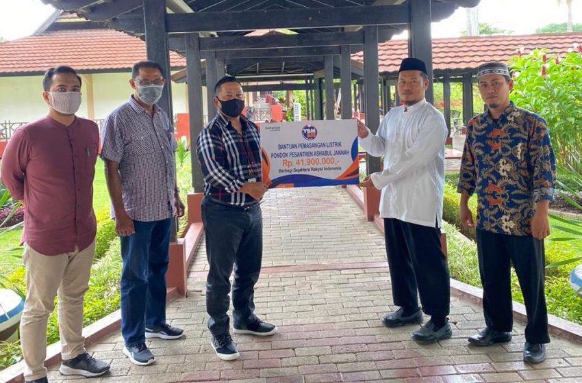 Bank BRI, Serahkan Bantuan Untuk Pesantren Tahfiz di Kabupaten Gowa
