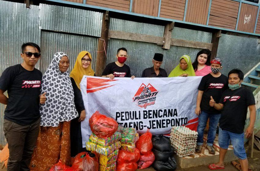 Komunitas PADATI Gowa Salurkan Bantuan Kemanusiaan di Jeneponto – Bantaeng