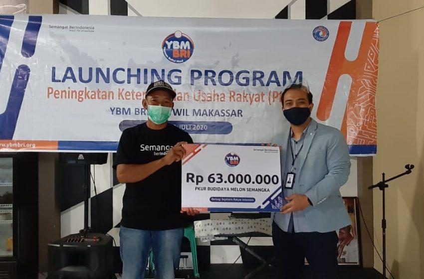Tingkatkan Taraf Hidup Mustahiq, YBM BRI Launching Program PKUR