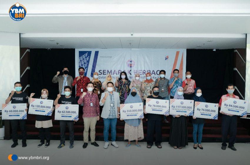 Semarakkan HUT BRI, YBM BRI Makassar Serahkan Bantuan 1,1 Miliar Untuk Masyarakat