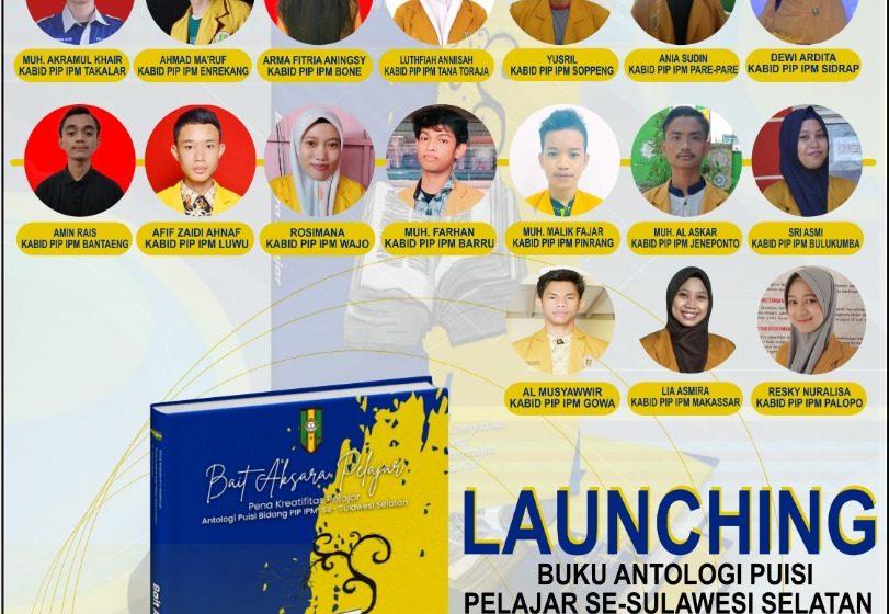 Launching Buku Antologi Puisi, Bukti Kolaborasi PD IPM se-Sulsel
