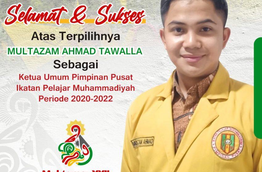 Muktamar XXII di Purwokerto, Tetapkan Putra Sulsel Jadi Ketum PP IPM 2020-2022