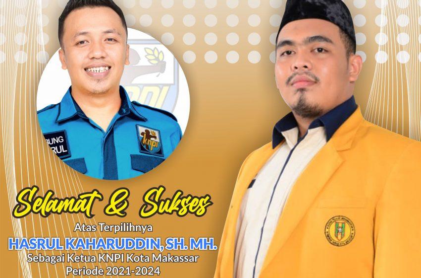 Arul Terpilih Ketua KNPI Kota Makassar, Ketum PD IPM Makassar Beri Selamat